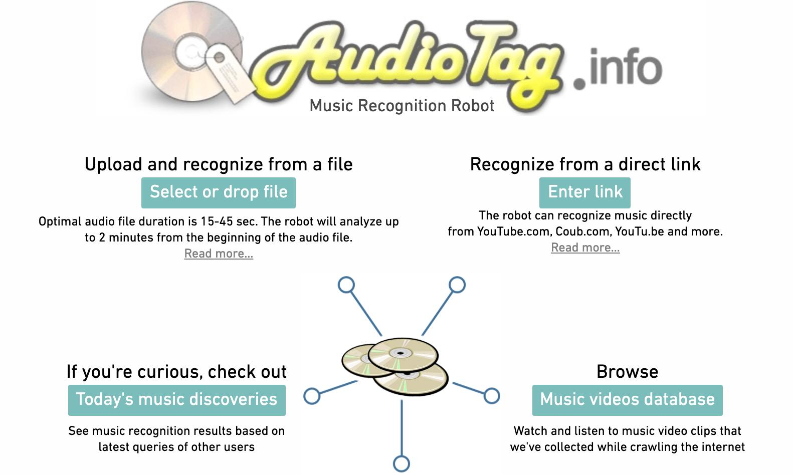 Tìm kiếm bài hát qua website Audiotag