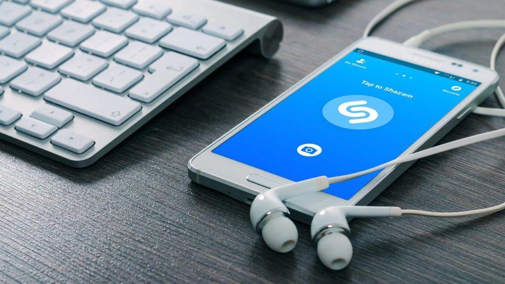 Tìm kiếm nhạc qua ứng dụng Shazam